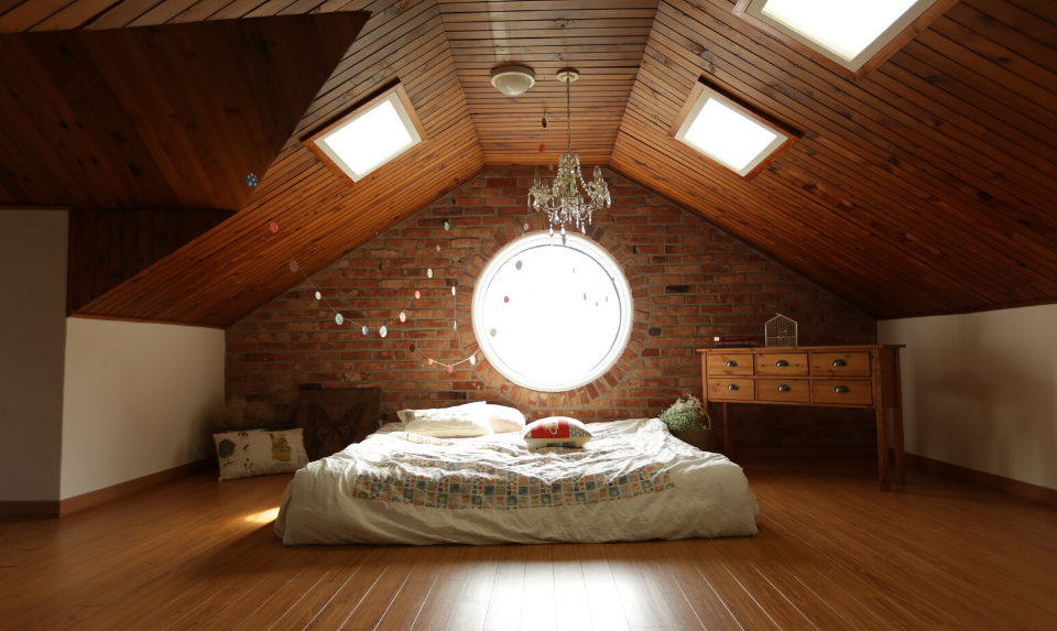 wooden floors for the bedroom
