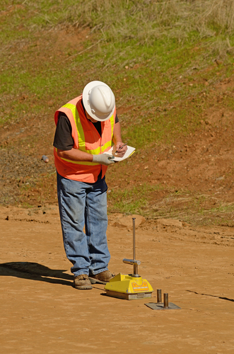 Soil testing is an important component of site prep.